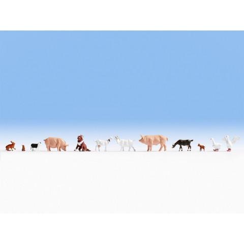 Noch - Animais da Fazenda (Farm Animals) - Escala HO: 15711