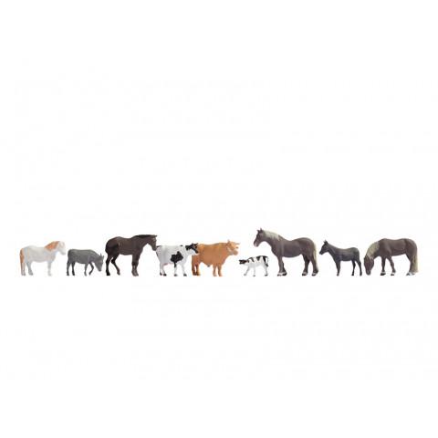 Noch - Animais da Fazenda (Farm Animals) - Escala HO: 15713