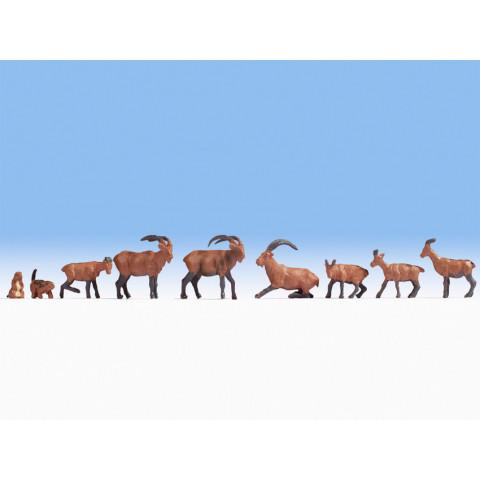 Noch - Animais Alpinos (Alpine Animals) - Escala HO: 15742