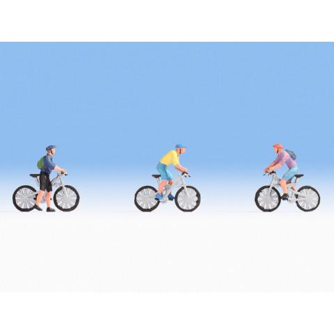 Noch - Ciclistas (Mountainbikers) - Escala HO: 15899