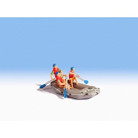Noch - Bote para Rafting (White Water Rafting) - Escala HO: 16818