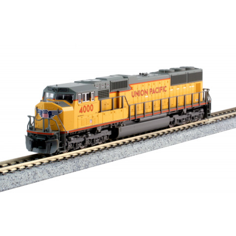 "Kato N - Locomotiva EMD SD70M ""Flat Radiator"" UP #4000: 176-7607"
