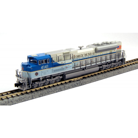 "Kato N - Locomotiva SD70ACe UP ""George Bush"" #4141: 176-8411"