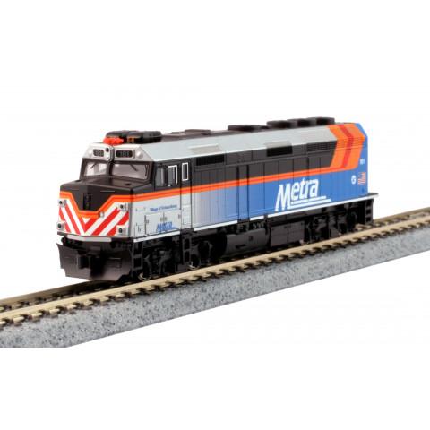 Kato N - Locomotiva EMD F40PH Chicago Metra #181: 176-9106