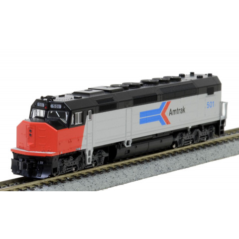Kato N - Locomotiva SDP40F Type I, Amtrak Phase I #501: 176-9205