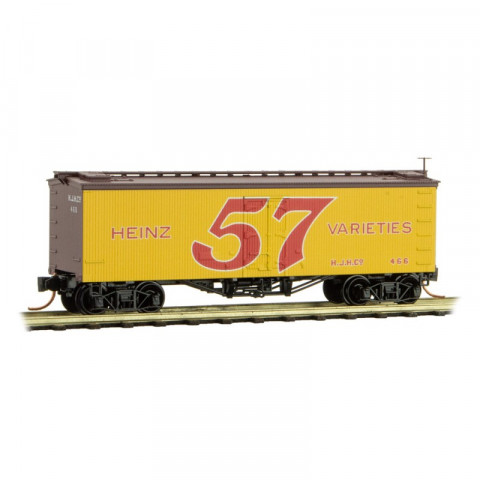 "Micro-Trains N - Vagão HEINZ ""Yellow Series #4"" Rd #466"