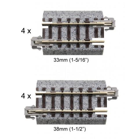 Kato N - Trilhos Simples - 33mm e 38mm: 20-092