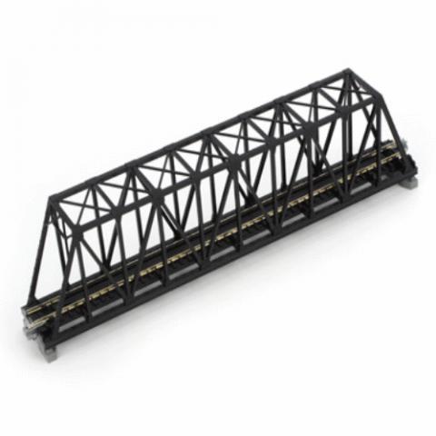 Kato N - Ponte Treliça, Pista Simples - Preta: 20-434
