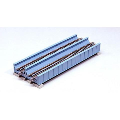 Kato N - Ponte de Viga, Pista Dupla - Azul Claro: 20-455