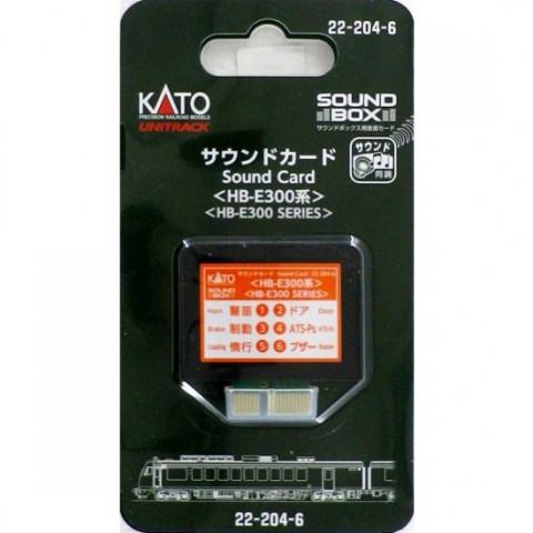 """Kato - Cartão para """"Sound Box"""": HB-E300 Series - 22-204-6"""