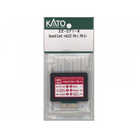 """Kato – Cartão para """"Sound Box"""": ALCO PA-1/PB-1 – 22-271-4"""