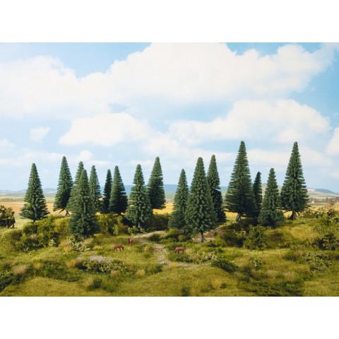 Noch - Árvores, Coníferas (Fir Trees) - Multi Escala: 24643