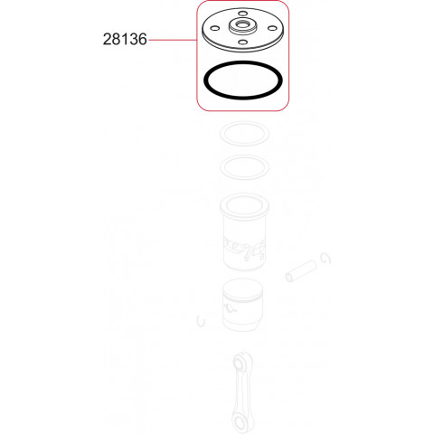 Novarossi - Espoleta .21 (3,5cc): NV-28136