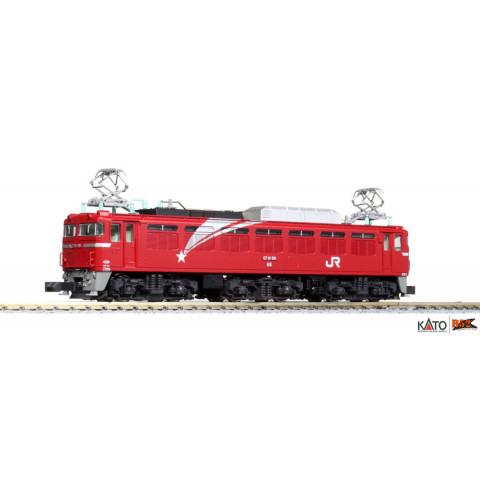 """Kato N - Locomotiva Elétrica EF81 """"Hokutosei"""": 3066-8"""