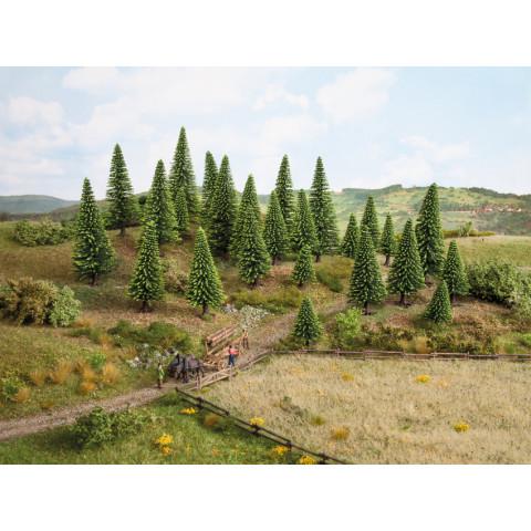 Noch - Pinheiros (Model Spruce Trees), Budget - Multi Escala: 32825