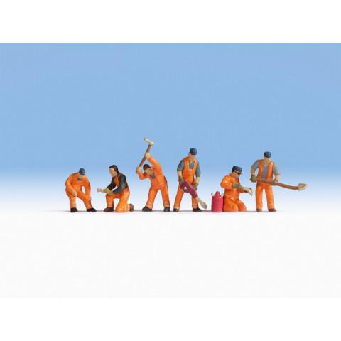 Noch - Operários de Ferrovias (Construction Group) - Escala N: 36276