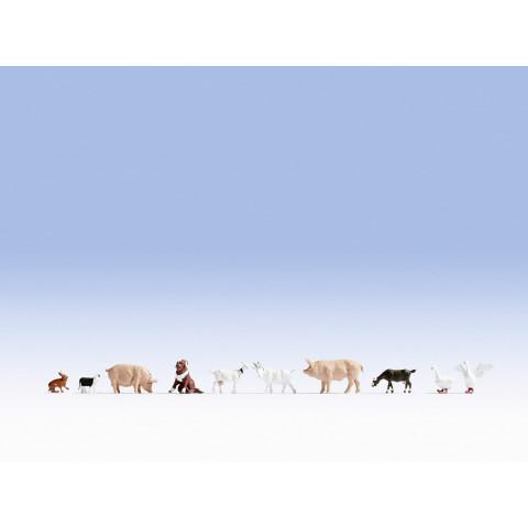 Noch - Animais da Fazenda (Farm Animals) - Escala N: 36711