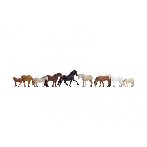 Noch - Cavalos (Horses) - Escala N: 36761