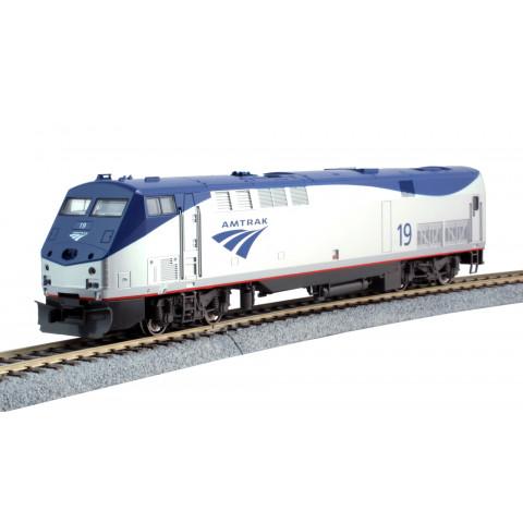 "Kato HO - Locomotiva GE P42 ""Genesis"" Amtrak #19: 37-6110"
