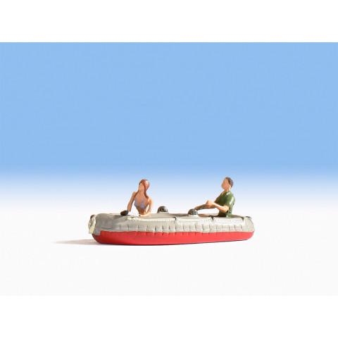 Noch - Bote Inflável (Dinghy) - Escala N: 37815