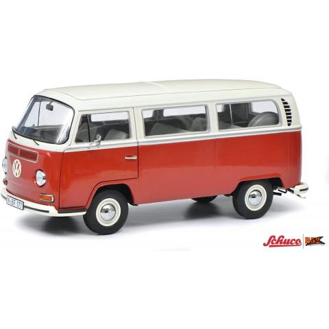 Schuco - VW Kombi T2a, Vermelho/Branco: 450043600