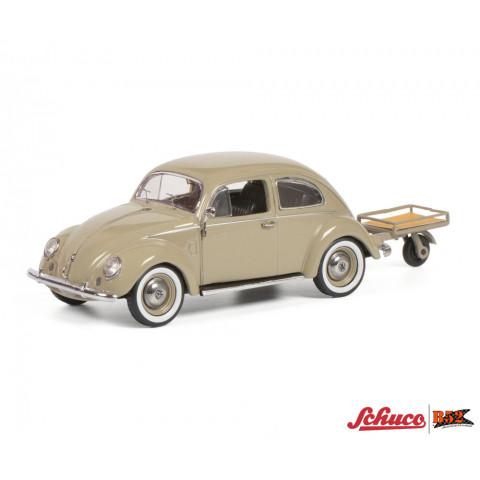 Schuco - VW Fusca, com Carretinha - 1:43: 450269200