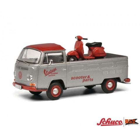 Schuco - VW Kombi T2a Picape - 1:43: 450333000