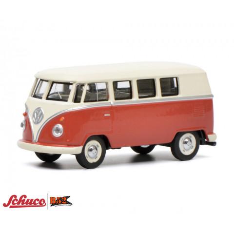 Schuco - VW Kombi T1, Vermelho e Bege: 452017100