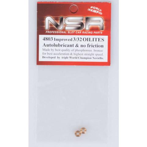 "NSR - Buchas 3/32"" Autolubricant e NO-Friction Olites: 4803"