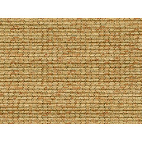 Noch - Folha de Textura 3D, Parede de Tijolos - Escala HO: 56613