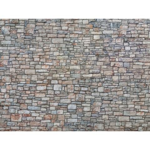 Noch - Folha de Textura 3D, Parede de Pedras - Escala HO: 56640