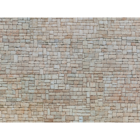 Noch - Folha de Textura 3D, Parede de Pedras - Escala HO: 56642