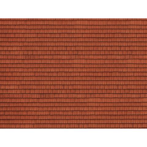 Noch - Folha de Textura 3D, Telhado - Escala HO: 56670
