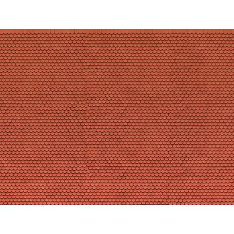 Noch - Folha de Textura 3D, Telhado Plano - Escala HO: 56690