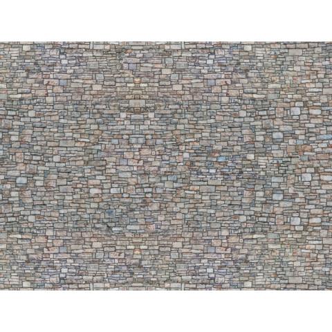 Noch - Folha de Textura 3D, Parede de Pedras - Escala N: 56940