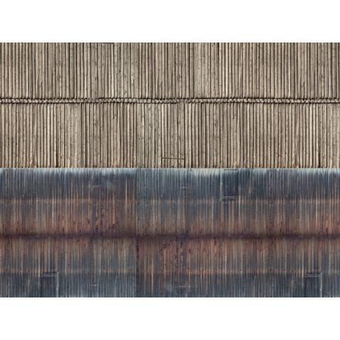 Noch - Folha de Textura 3D, Parede de Madeira - Escala N: 56964