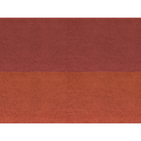 Noch - Folha de Textura 3D, Telhado Plano - Escala N: 56970