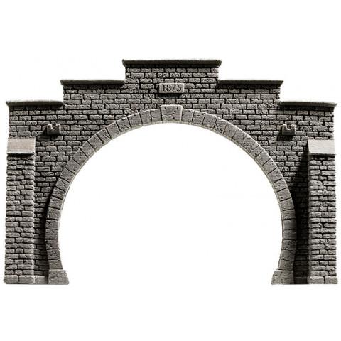 Noch - Entrada de Túnel (Tunnel Portal), pista Dupla - Escala HO: 58052