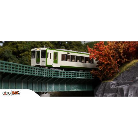 Kato N - Kiha Série 110 100, 2 Car Set: 6043-1 / 6044-1