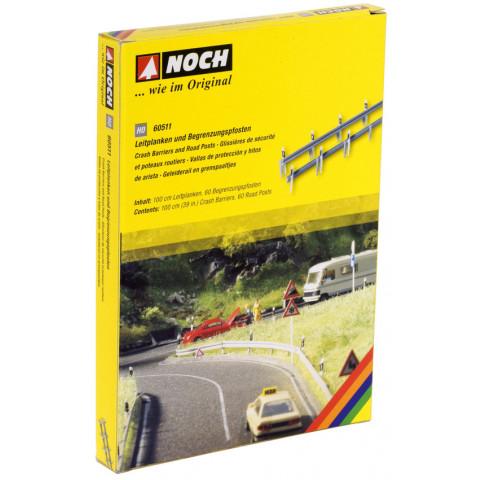 Noch - Guard Rail (Crash Barriers) - Escala HO: 60511