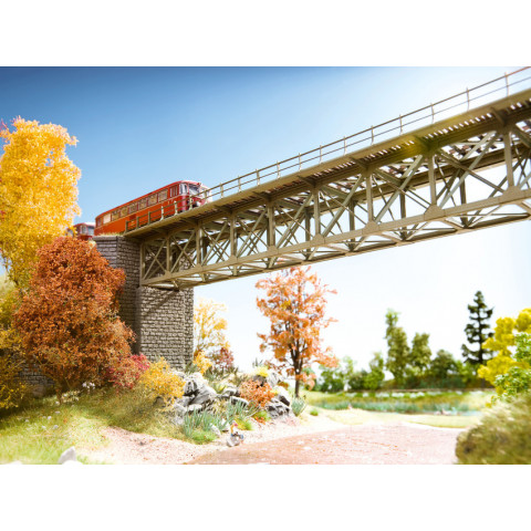 Noch - Ponte Reta em Treliça (Steel Bridge) - Escala N: 62810