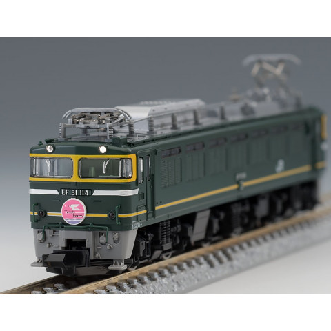 TOMIX - Locomotiva Elétrica EF 81, JR Twilight: 7122