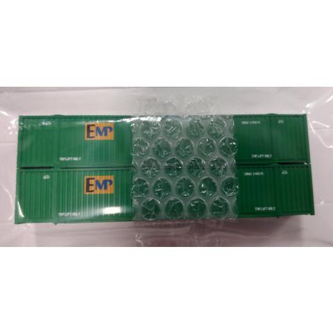 Kato N - Contêineres EMP Green 53': 80054B