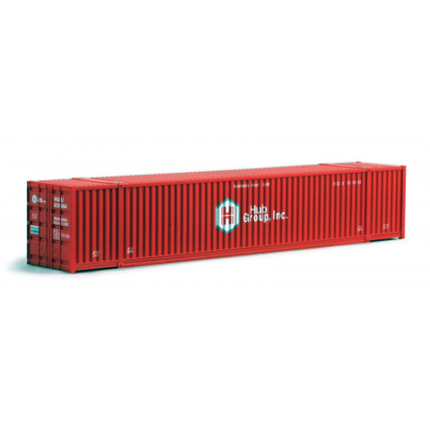 Kato N - Contêineres HUB Red 53': 80054H