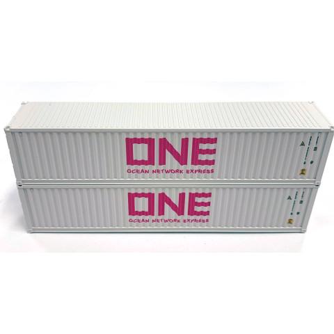 Kato N - Contêineres ONE Cinza 40': 80055F