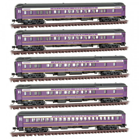 Micro-Trains N - Carros ACL Heavyweight 5 Pack: 993 02 080