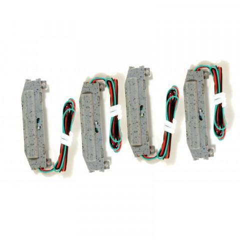 Micro-Trains Z - Acionadores de Desvio, Direita / Esquerda - Micro-Track: 990 40 916