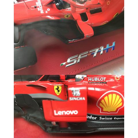 *Outlet - BBR - Ferrari SF71-H Vettel #5, GP Bélgica 2018: BBR181805BST