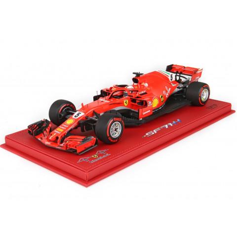 BBR - Ferrari SF71-H Vettel #5, GP Bélgica 2018: BBR181805BST