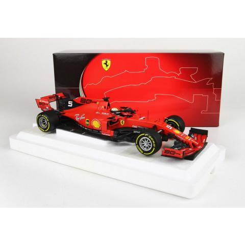 BBR - Ferrari SF90 Vettel #5, GP Belgium 2019: BBR191825DIE
